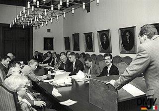DMJV 1995, Vortrag in der Uni Rostock